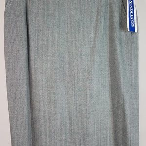NWT wool straight pencil career skirt ladies 16